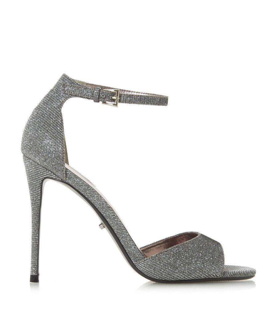 Image for Dune Ladies MIDNIGHTE Lurex Two Part Sandals