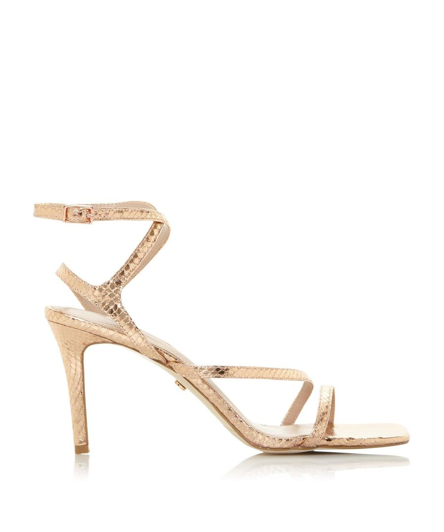 Image for Dune Ladies MIGHTEYS Square Toe Strappy Sandals