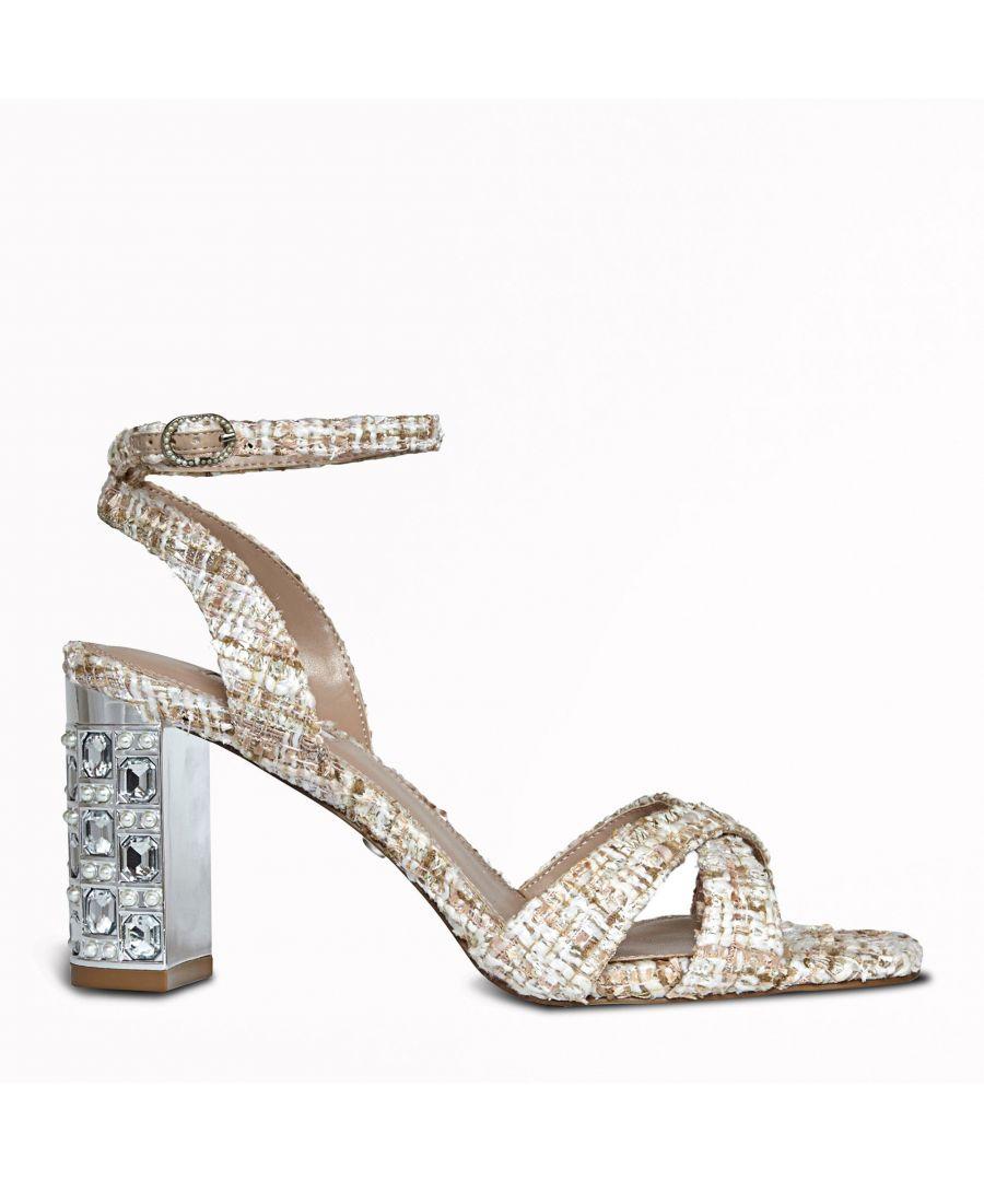 Image for Dune Ladies MILLION Mid Block Heel Sandals
