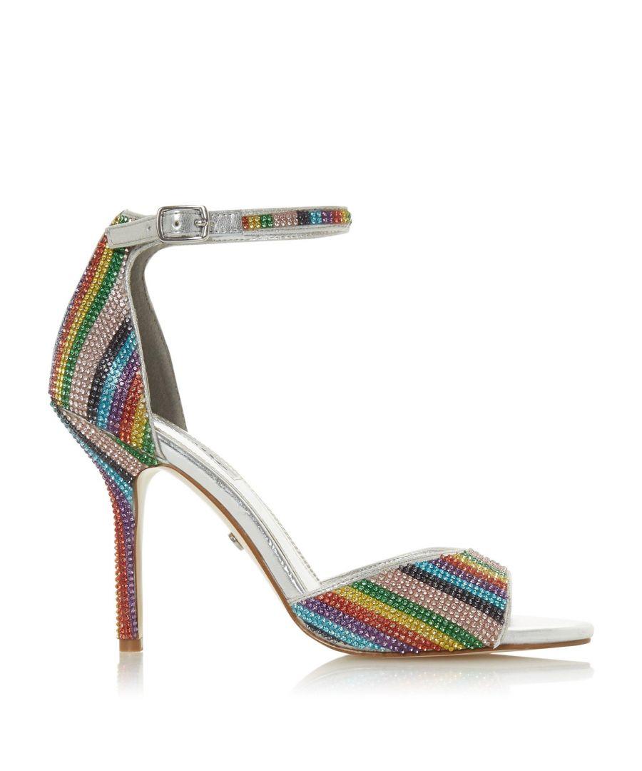 Image for Dune Ladies MILLIONAIRE Multi-Crystal High Heeled Sandal