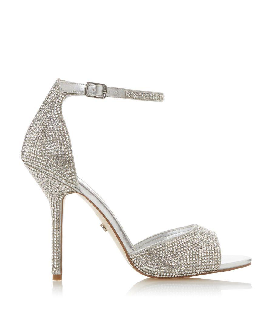 Image for Dune Ladies MILLIONAIRE Multi-Crystal High Heeled Sandals