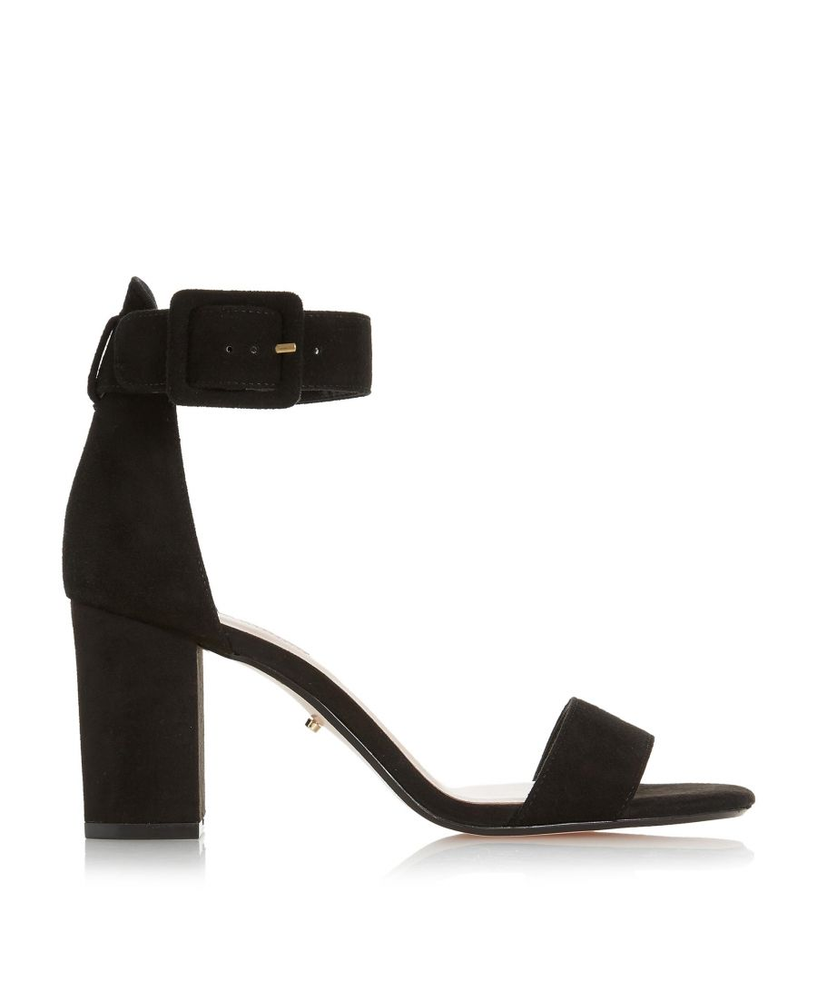 Image for Dune Ladies MIRROR Two Part Mid Heeled Sandals