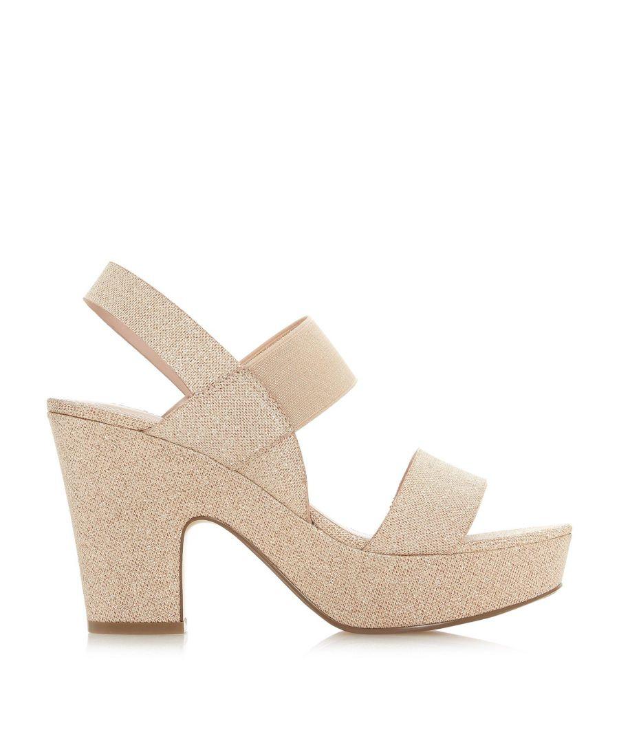 Image for Dune Ladies MIYLA Double Strap High Platform Heel Sandals