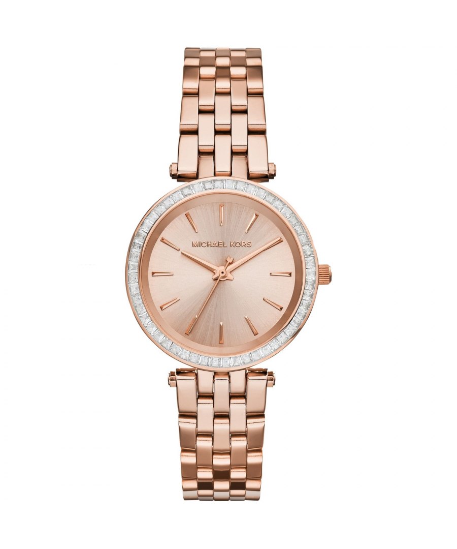 Image for Michael Kors Rose Gold Tone Watch MK3366