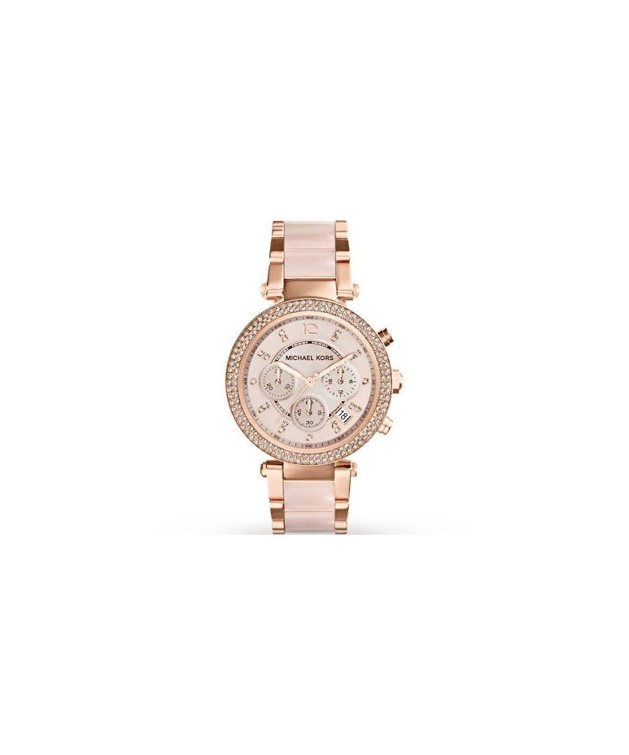 Image for Ladies Michael Kors Parker Chronograph Watch MK5896