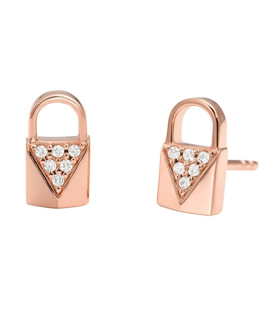 Image for Michael Kors Padlock Earrings