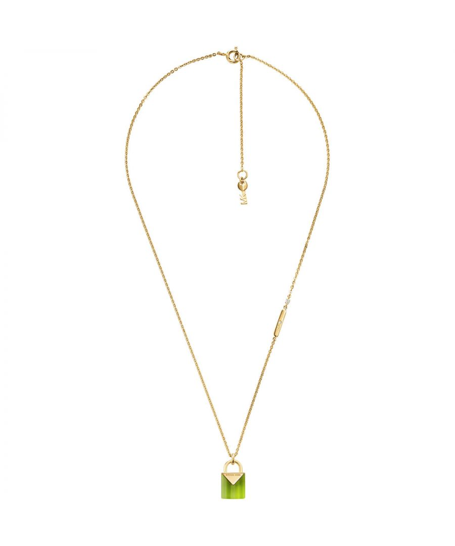 Image for Michael Kors Padlock Necklace