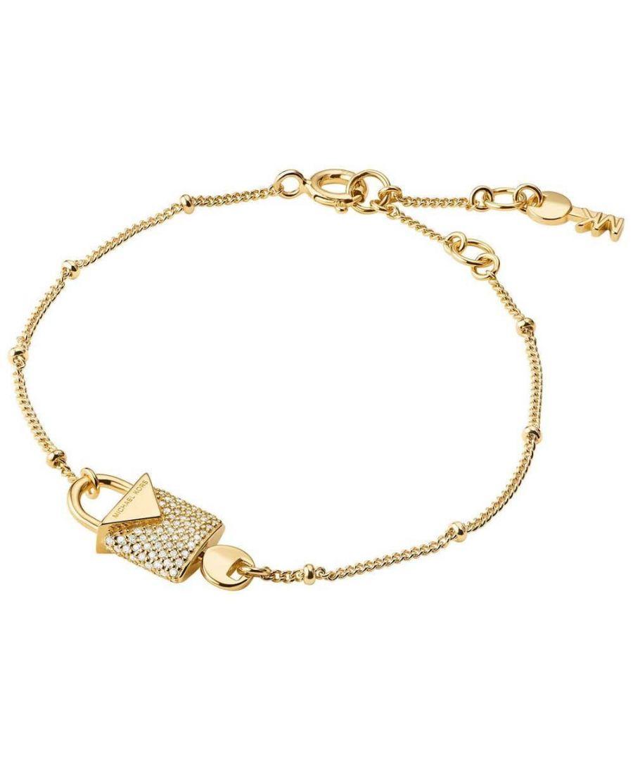 Image for Michael Kors Padlock Bracelet