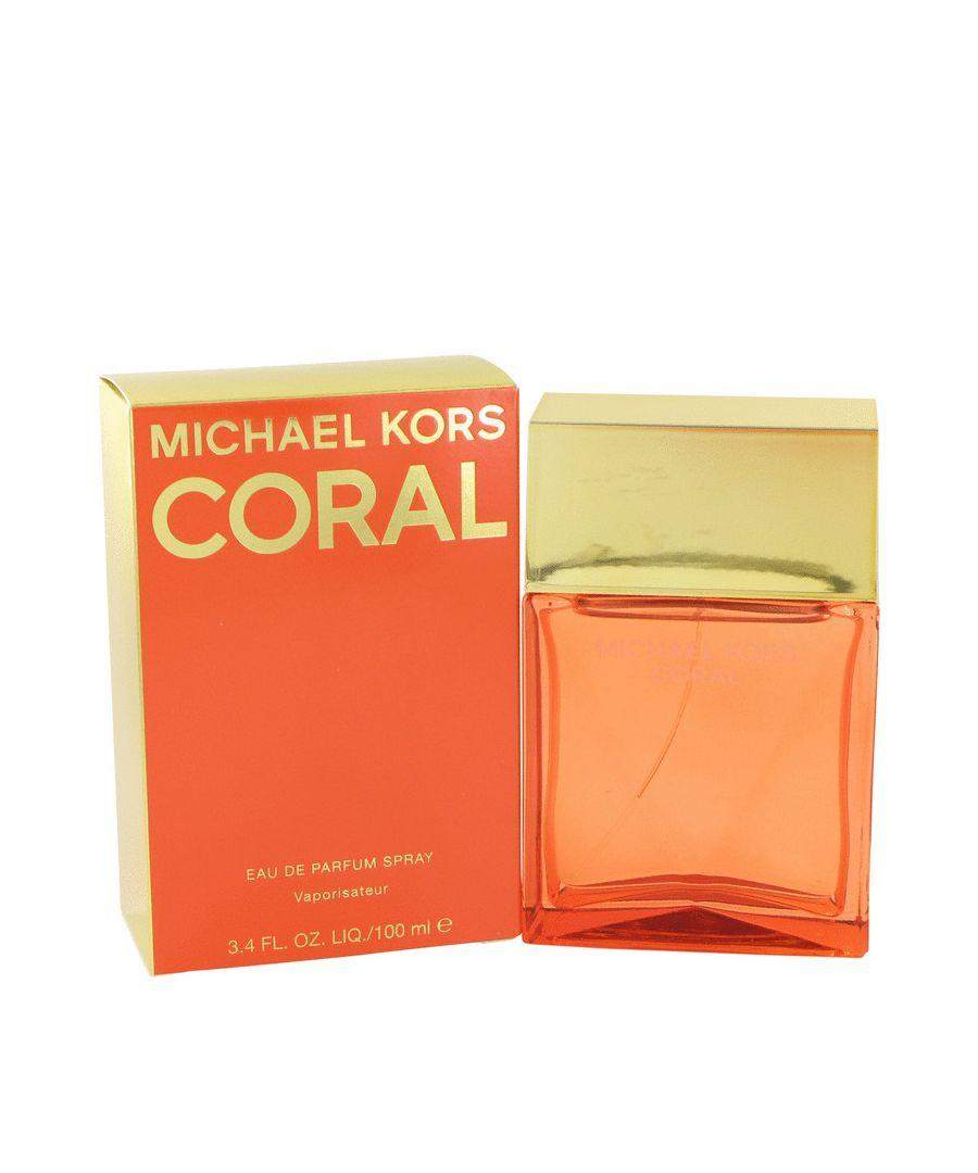 Image for Michael Kors Coral Eau De Parfum Spray By Michael Kors 100 ml