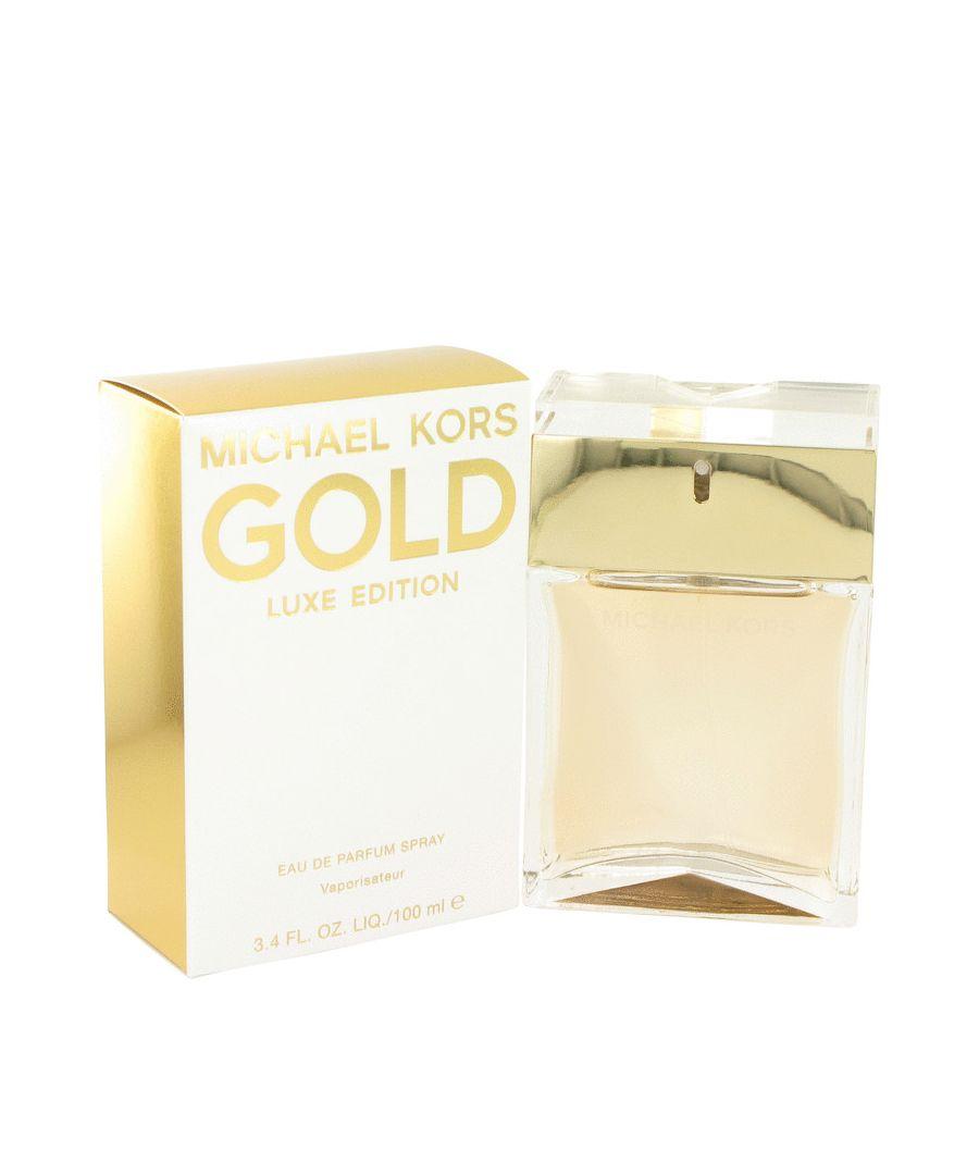 Image for Michael Kors Gold Luxe Eau De Parfum Spray By Michael Kors 100 ml