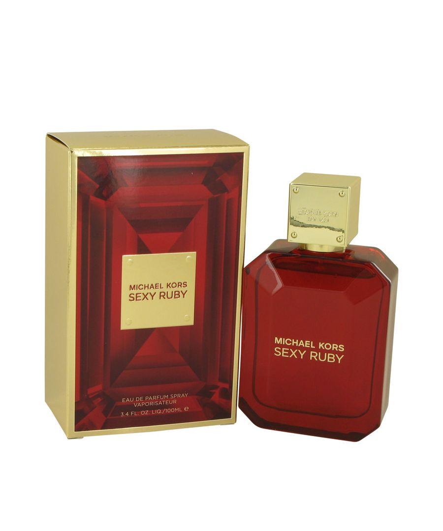 Image for Michael Kors Sexy Ruby Eau De Parfum Spray By Michael Kors 100 ml