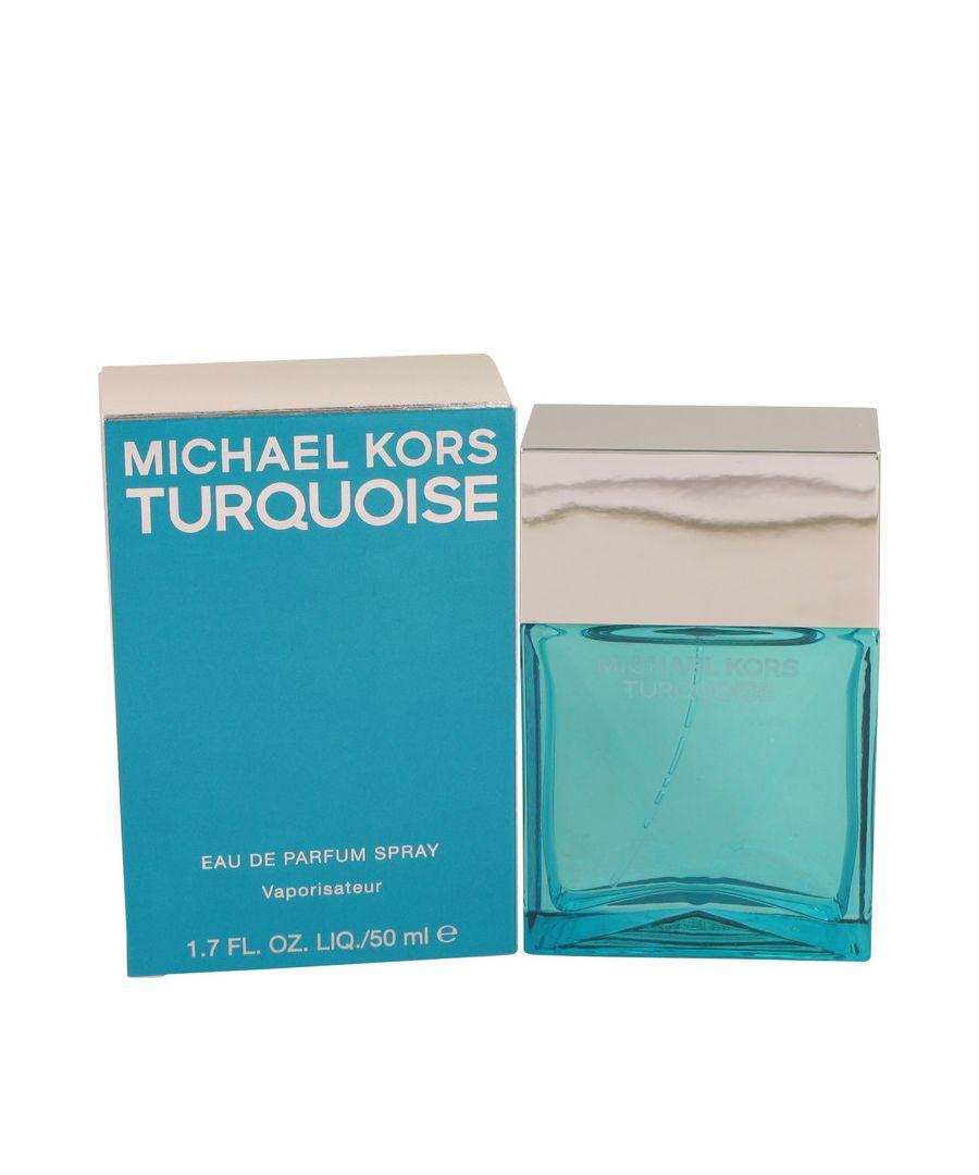 Image for Michael Kors Turquoise Eau De Parfum Spray By Michael Kors 50 ml