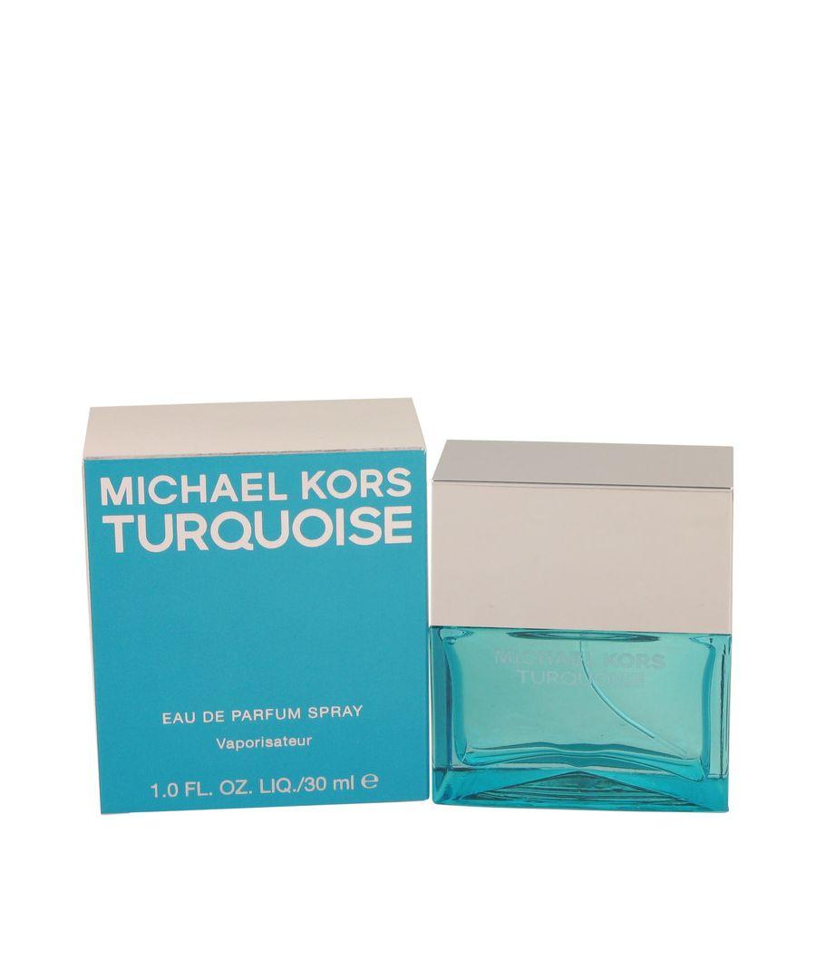 Image for Michael Kors Turquoise Eau De Parfum Spray By Michael Kors 30 ml