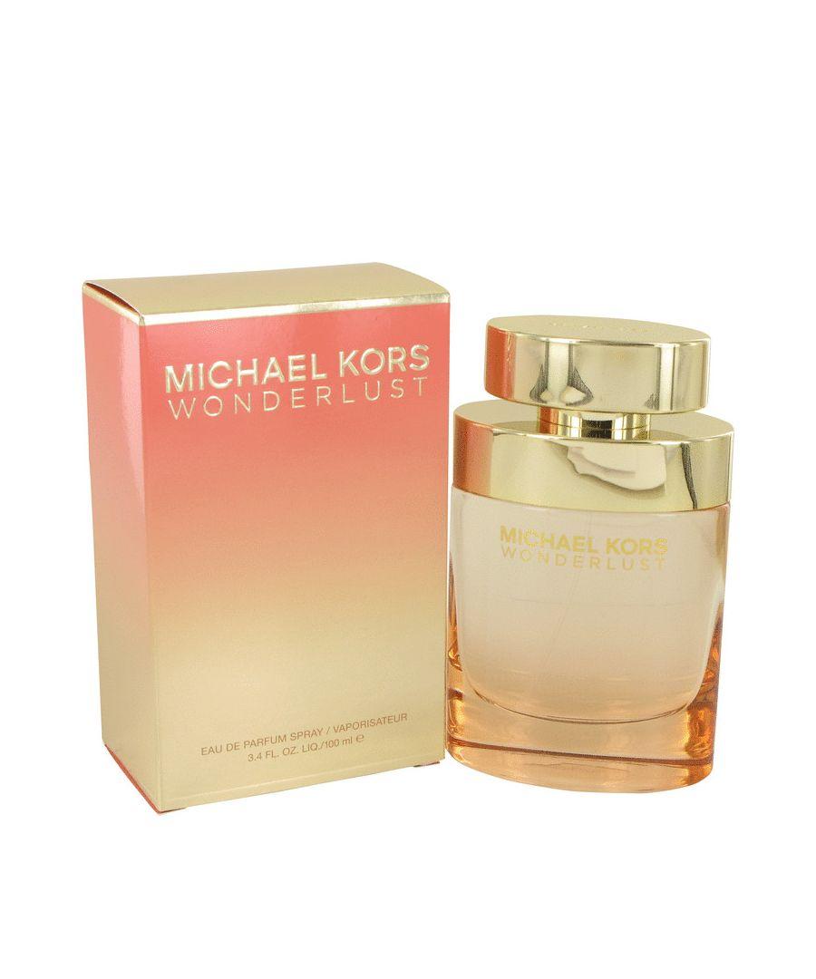 Image for Michael Kors Wonderlust Eau De Parfum Spray By Michael Kors 100 ml