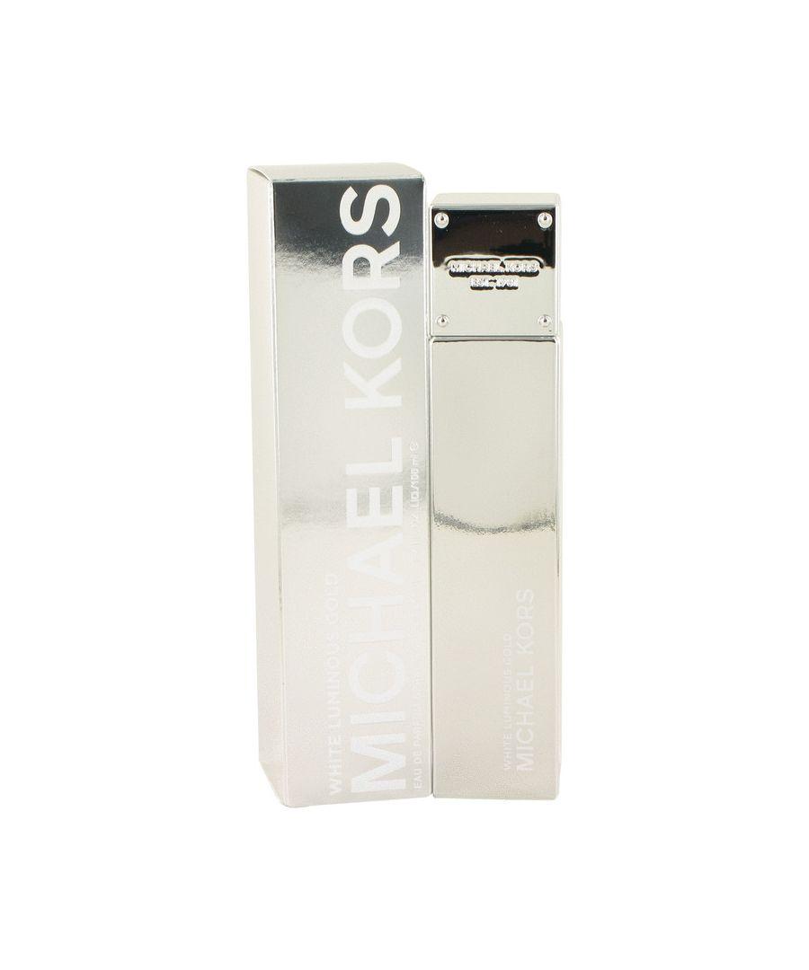 Image for Michael Kors White Luminous Gold Eau De Parfum Spray By Michael Kors 100 ml