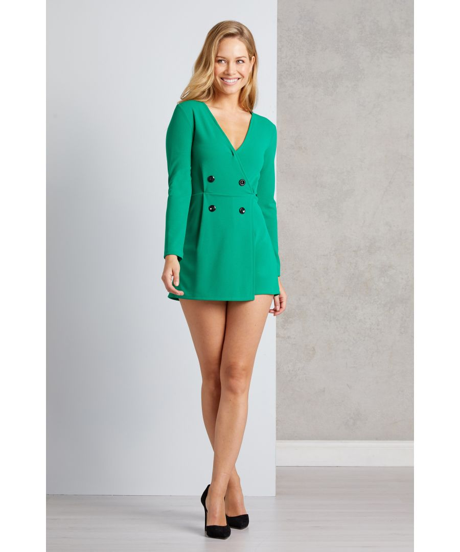 Image for Blazer Inspired Playsuit