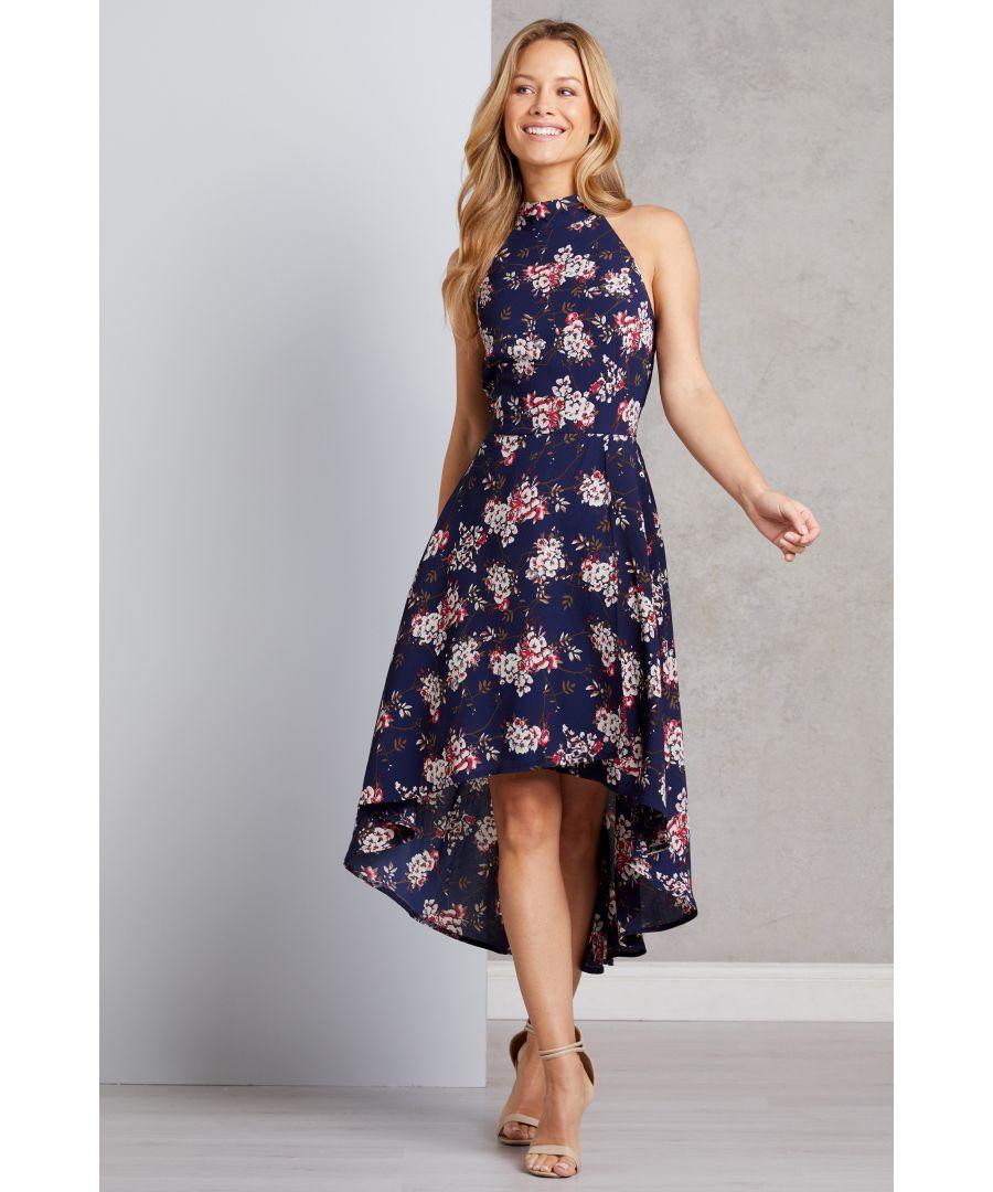 Image for Hi Low Floral Dress