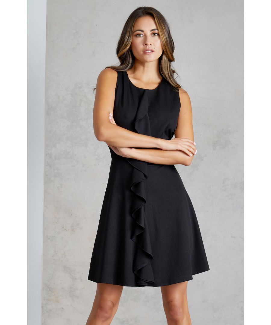 Image for Centre Ruffle Dress
