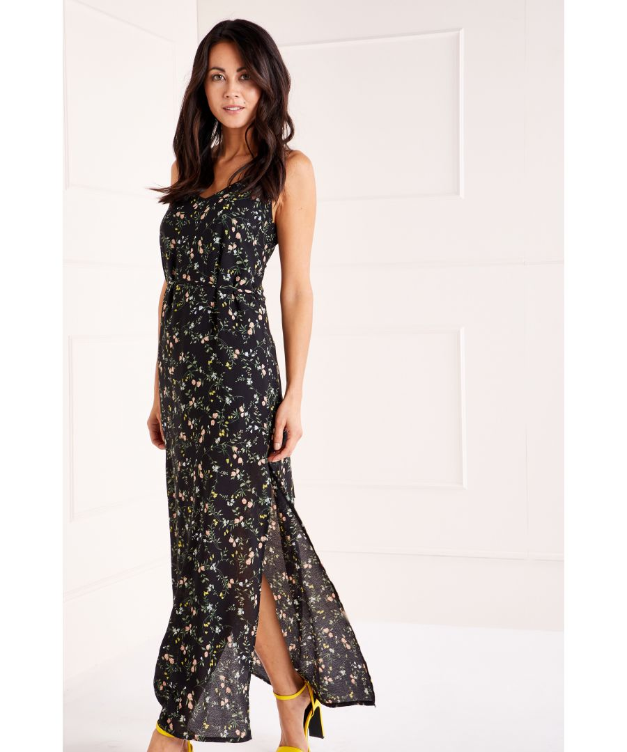 Image for Ditzy Print Maxi Dress