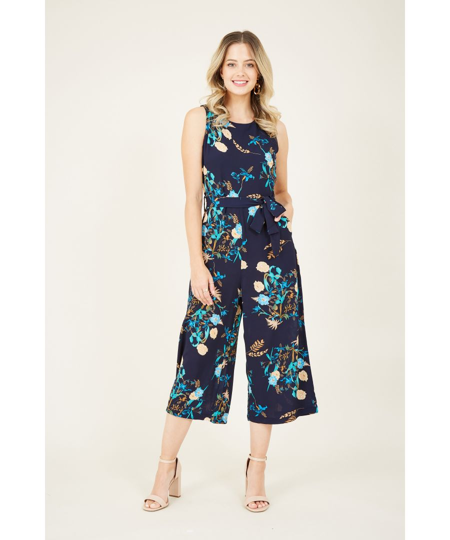 Image for Floral Printed Jumpsuit