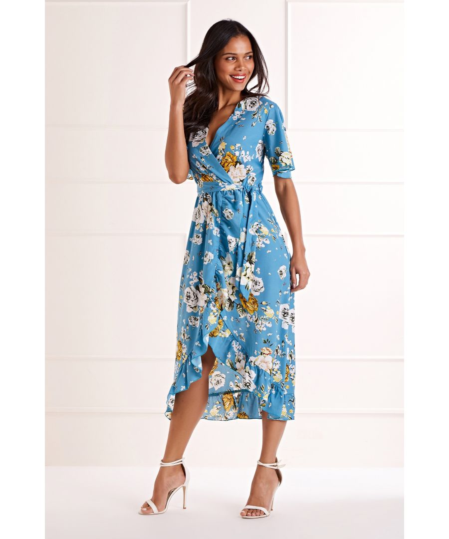 Image for Dipped Hem Maxi Dress