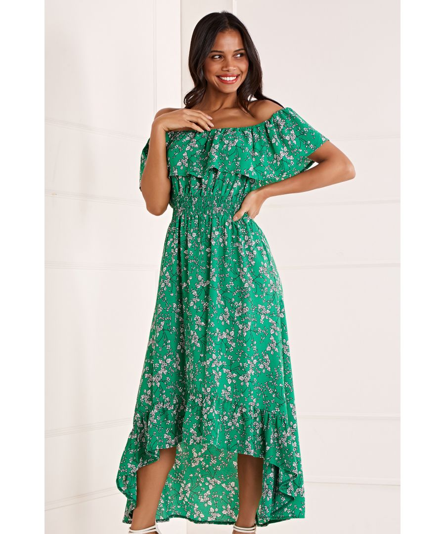 Image for Bardot High Low Maxi Dress