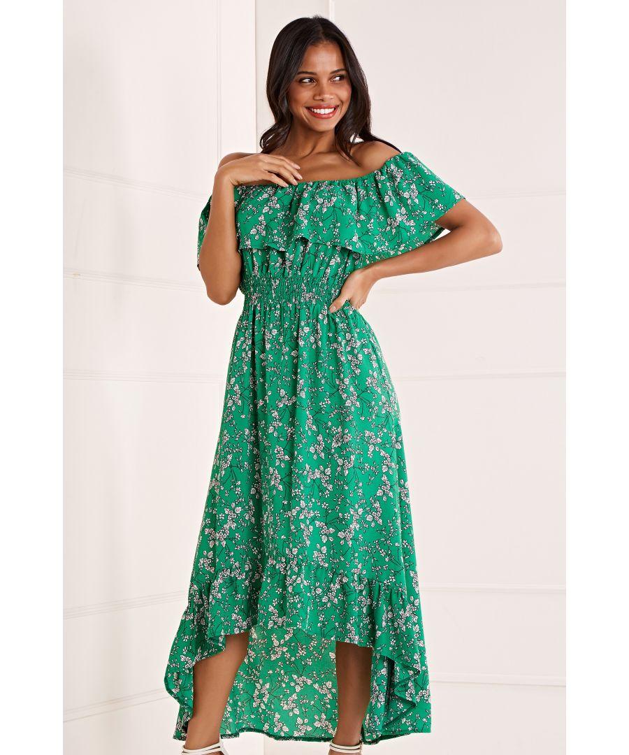 Image for Bardot High Low Maxi Dress