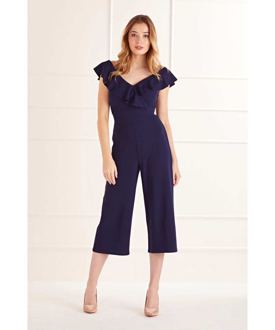 Image for Ruffle Top Jumpsuit
