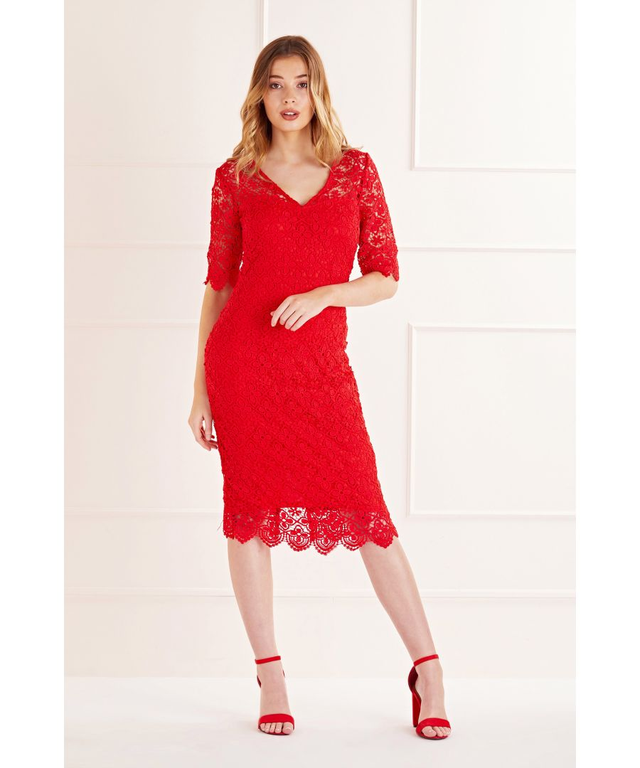 Image for Lace Midi Dress