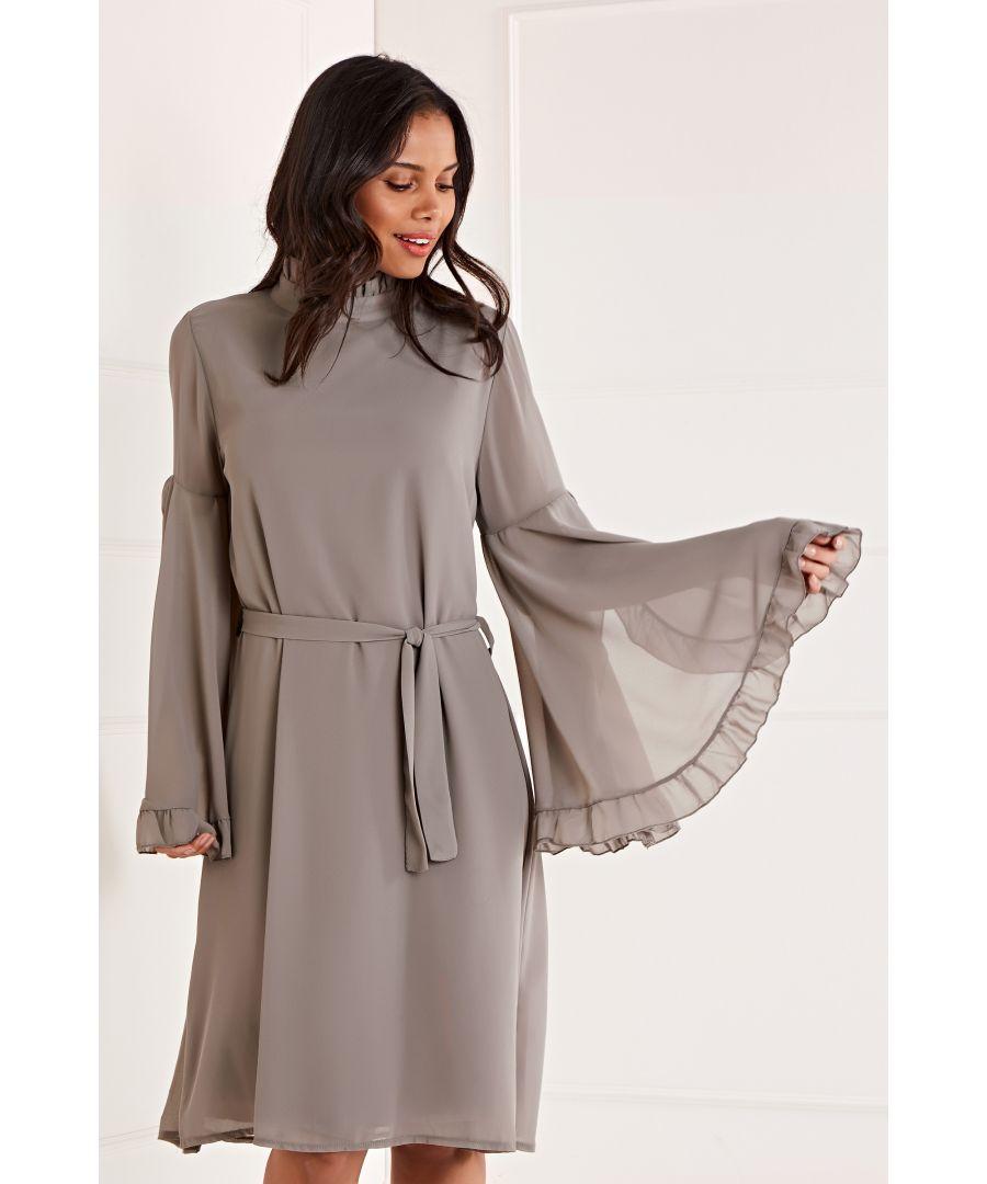 Image for Tie Waist Shift Dress