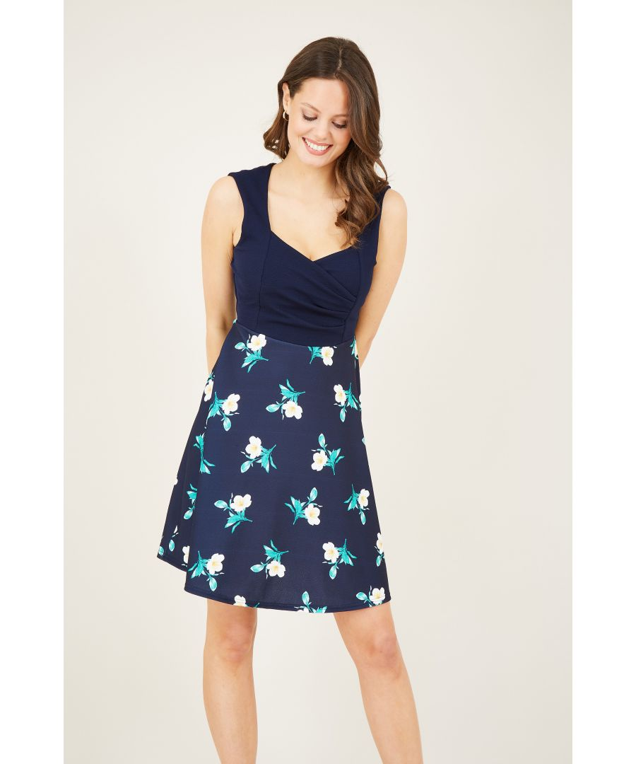 Image for Sweetheart Printed Dress