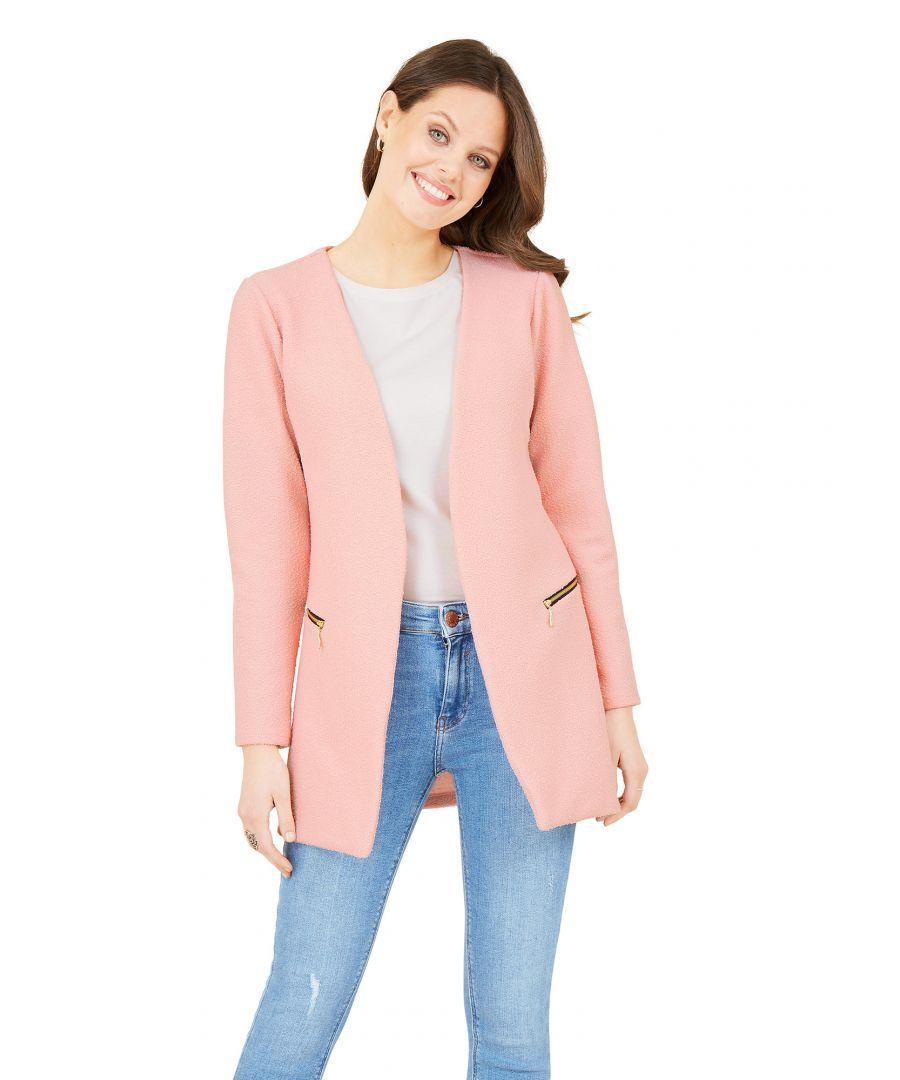 Image for Textured 2Zip Jacket