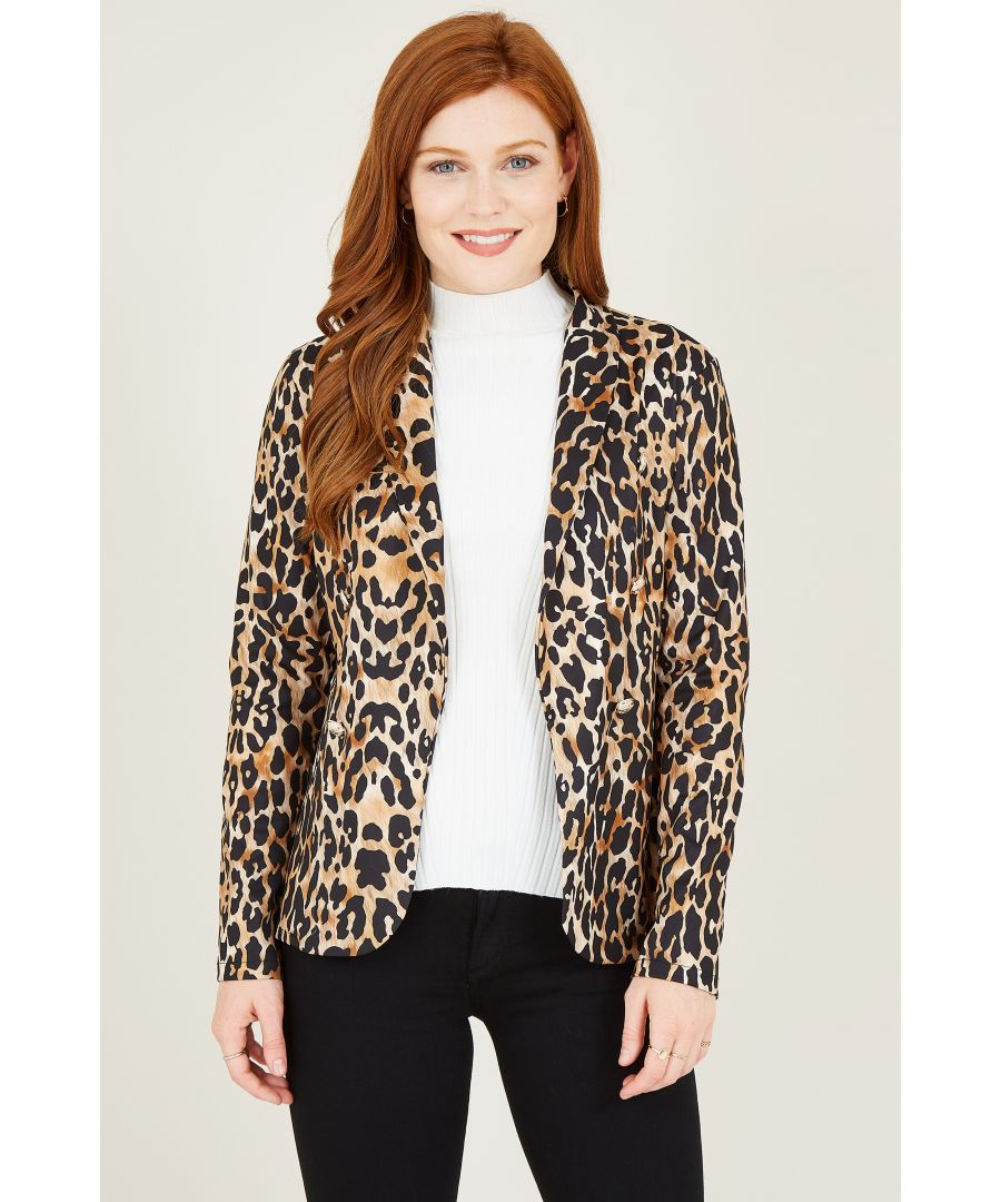 Image for Leopard Printed Military Jacket
