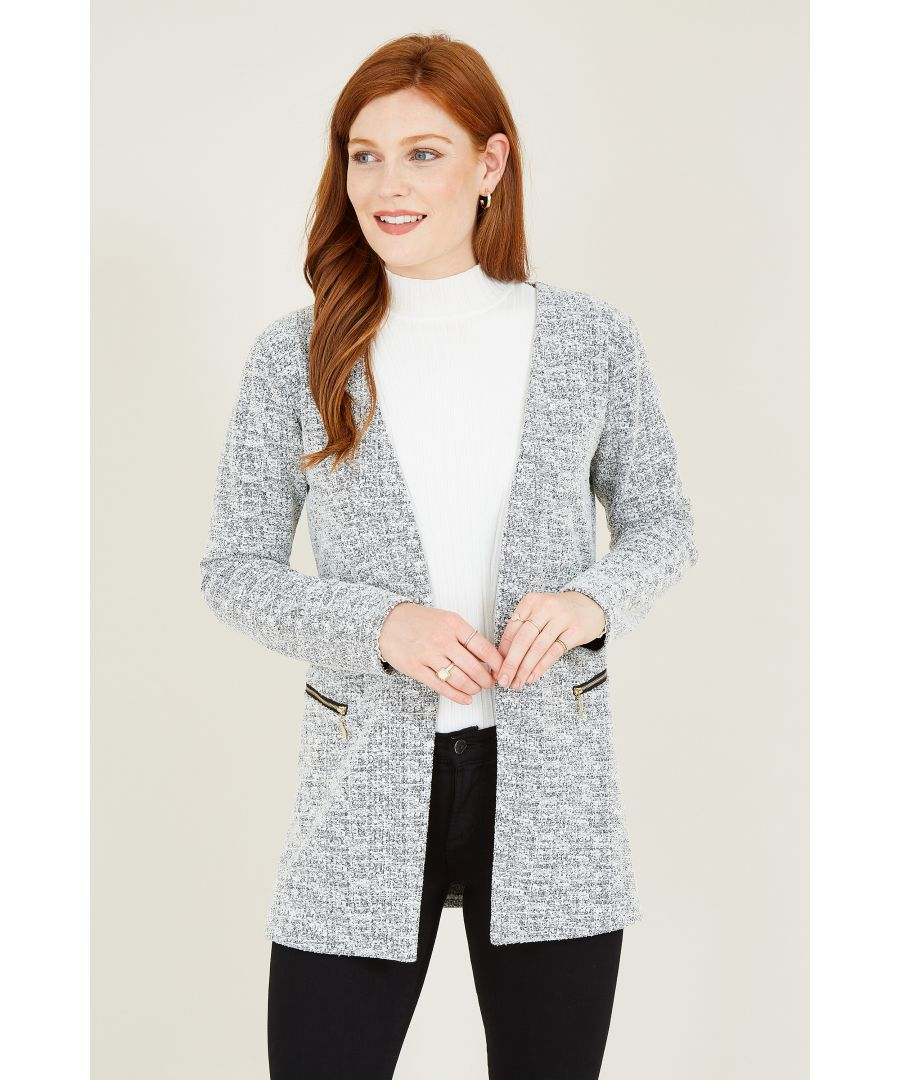 Image for Textured Two Zip Jacket
