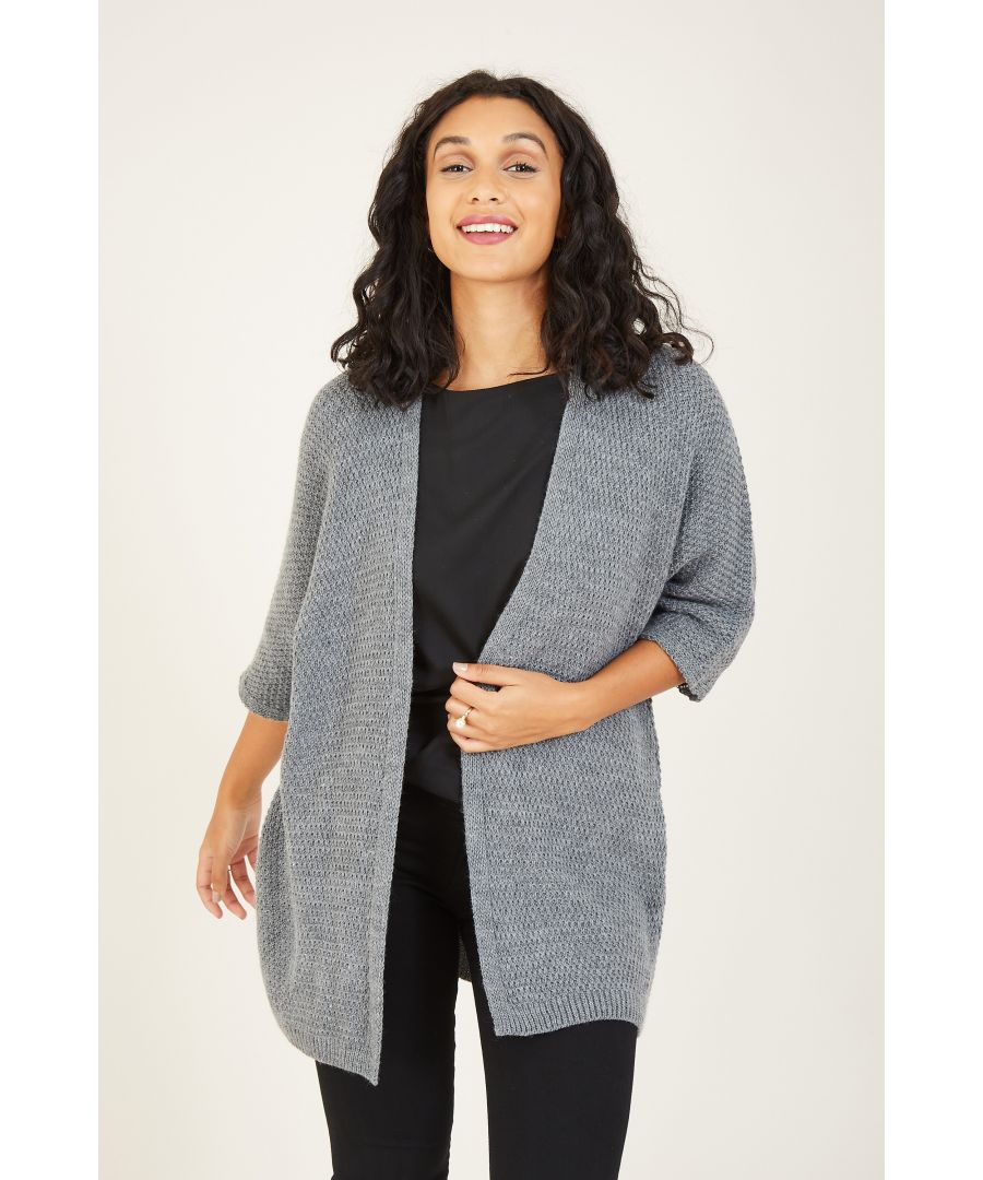Image for Mela London Knitted Batwing Open Cardigan