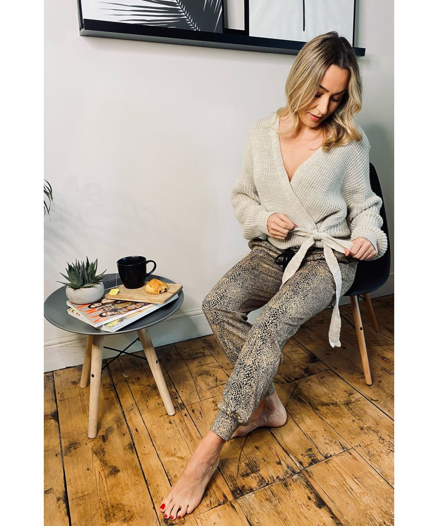 Image for Mela London Knitted Side Knot Cardigan