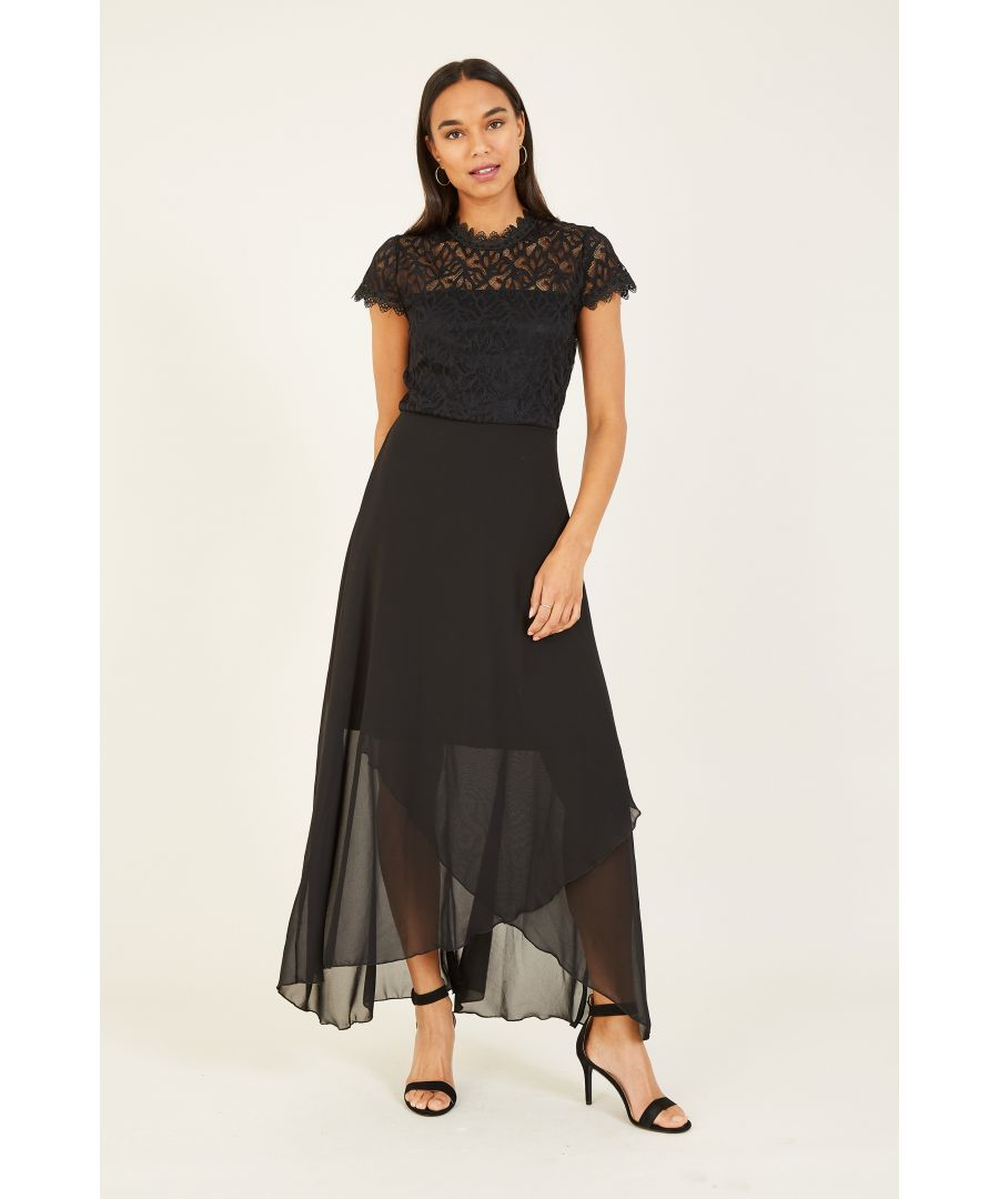 Image for Mela Lace Top Chiffon Skirt Dress