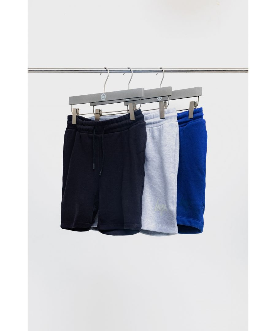 Image for Hype Three Pack Multi Kids Shorts