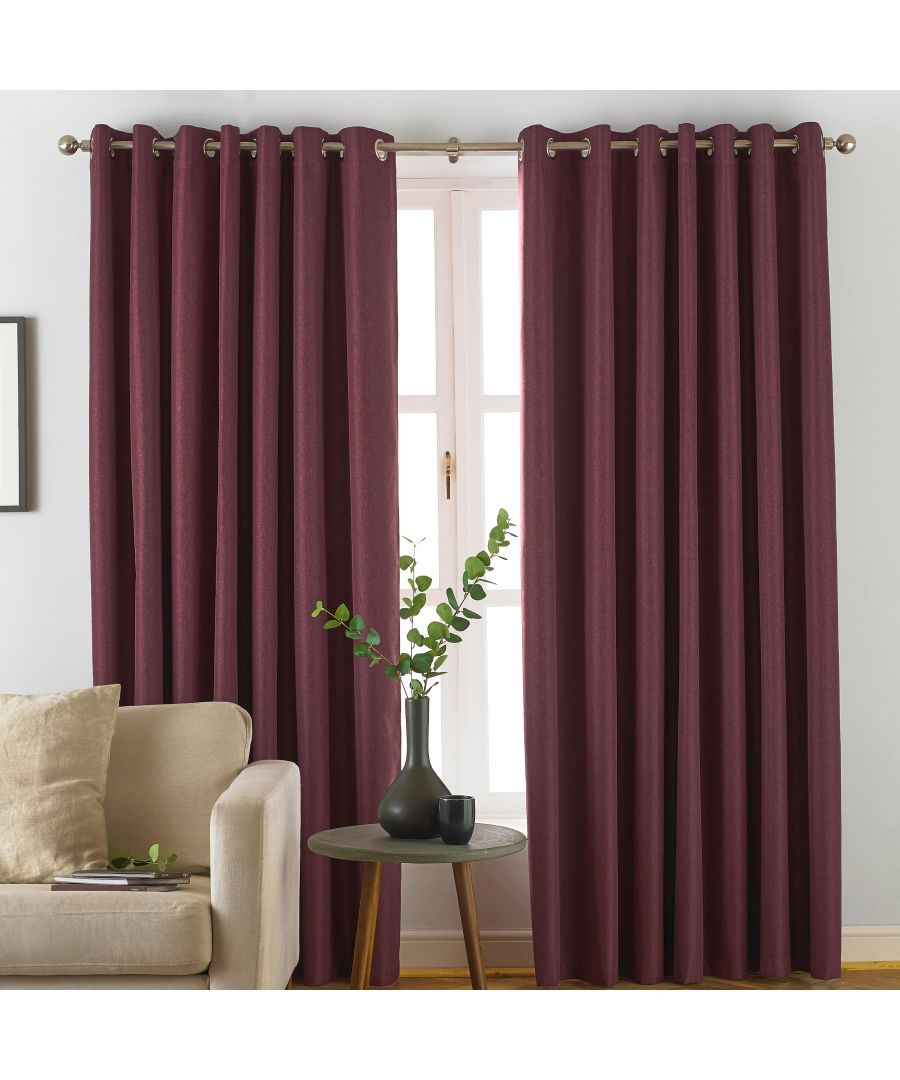 Image for Moon Blackout Eyelet Curtains