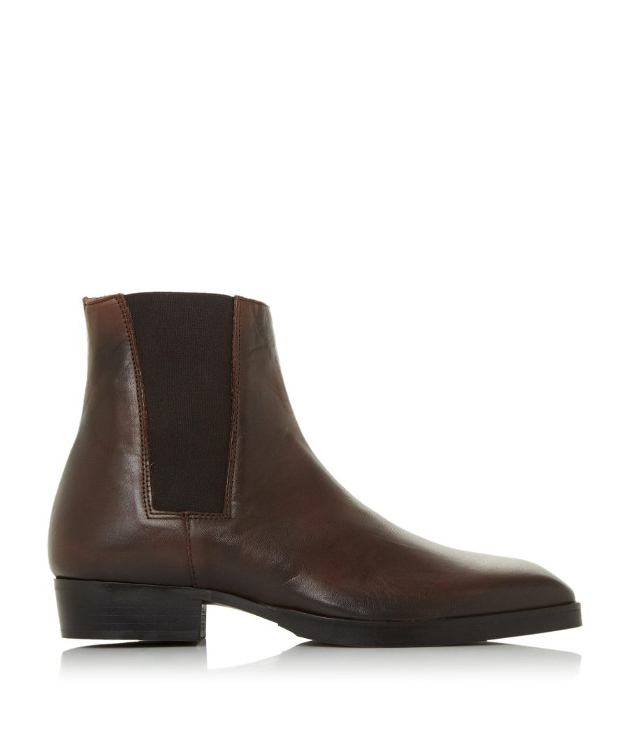 Image for Bertie Mens MORCHORY Square Toe Chelsea Boots