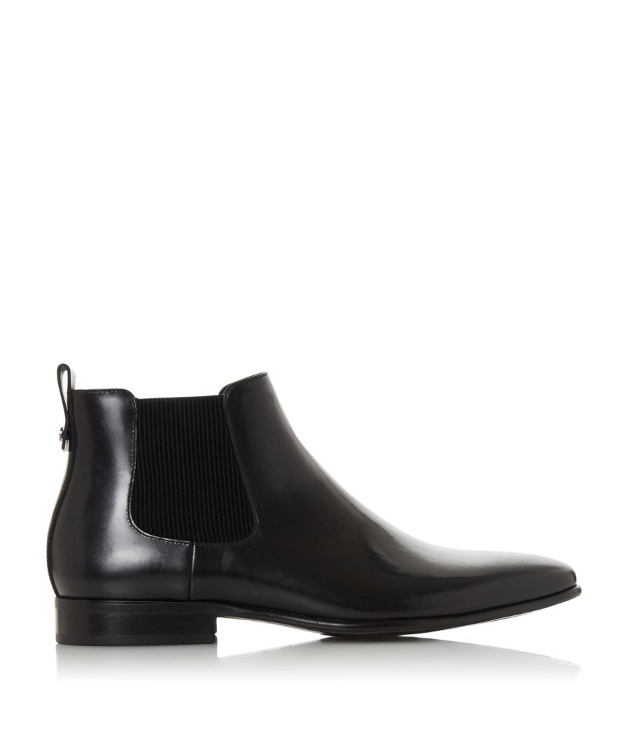 Image for Dune Mens MORTON Ribbed Chelsea Boots