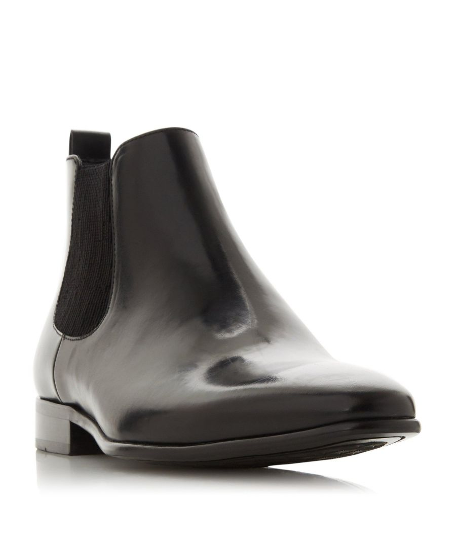 Image for Dune Mens MORTON Ribbed Chelsea Boot