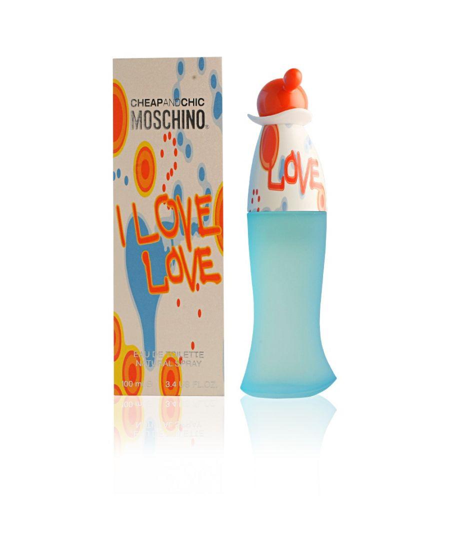 Image for Moschino I Love Love Eau De Toilette Spray 100Ml