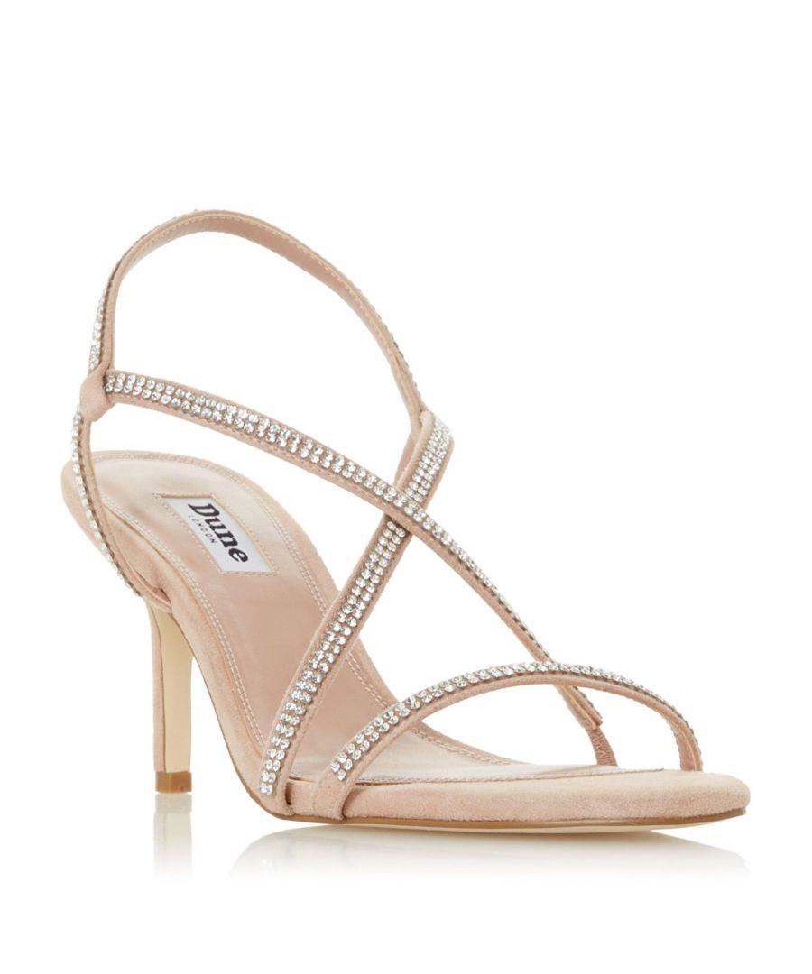 Image for Dune Ladies MOTO Strappy Mid Heel Sandal