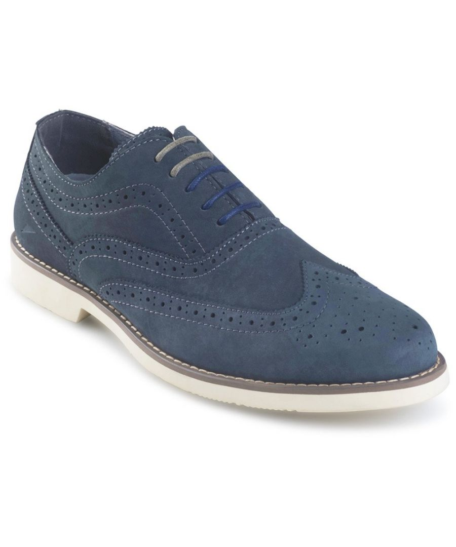 Image for Muller Brogues Navy
