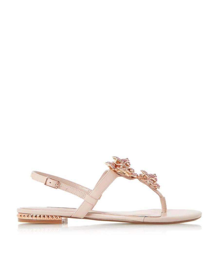 Image for Dune Ladies MULLIGAN Jewel Floral Brooch Sandals