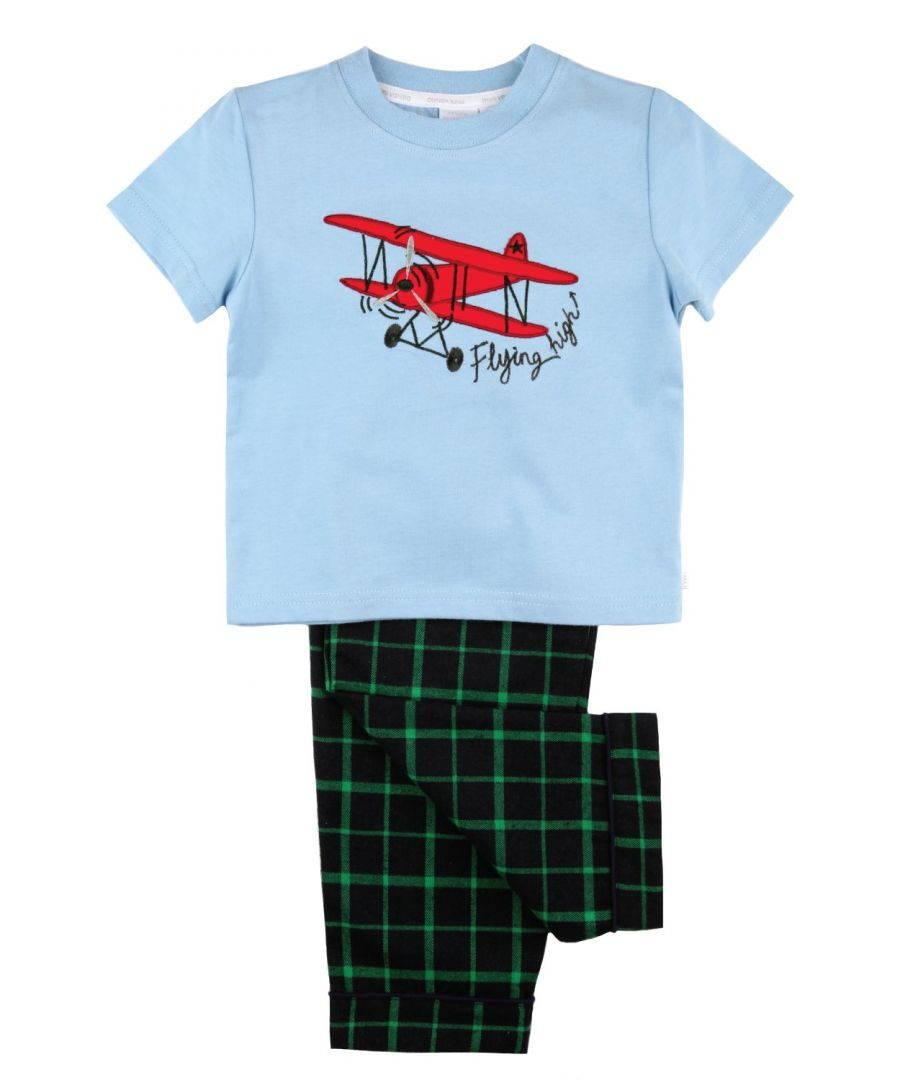 Image for Flying High in our Aeroplane Pyjamas for Boys