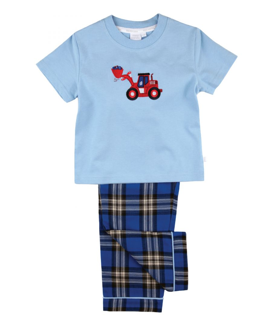 Image for Big Red Digger Boys Pyjamas