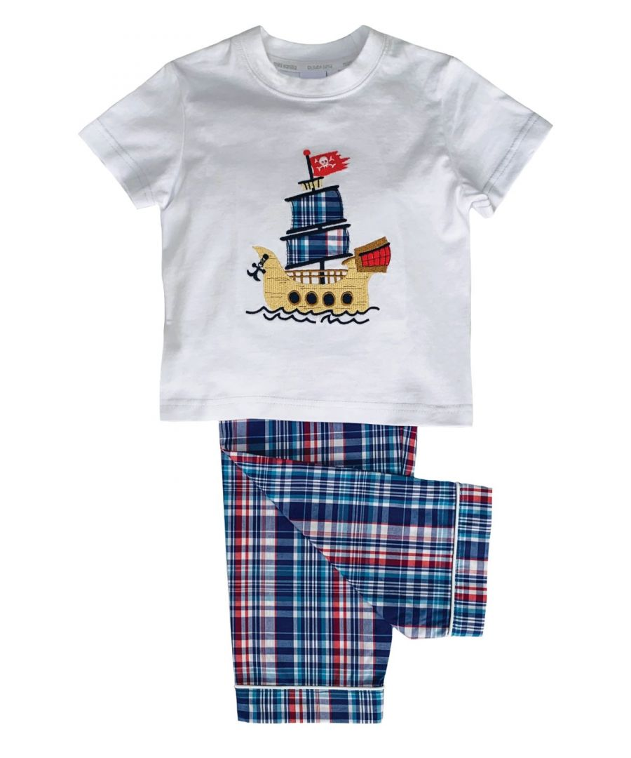 Image for Galleon Pirate ship Pyjamas for Boys