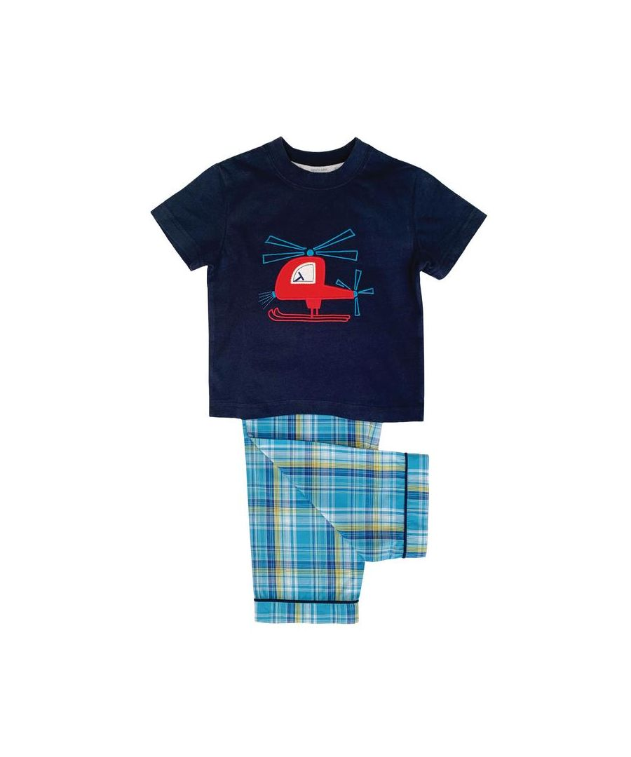 Image for Red Helicopter Pyjama for boys